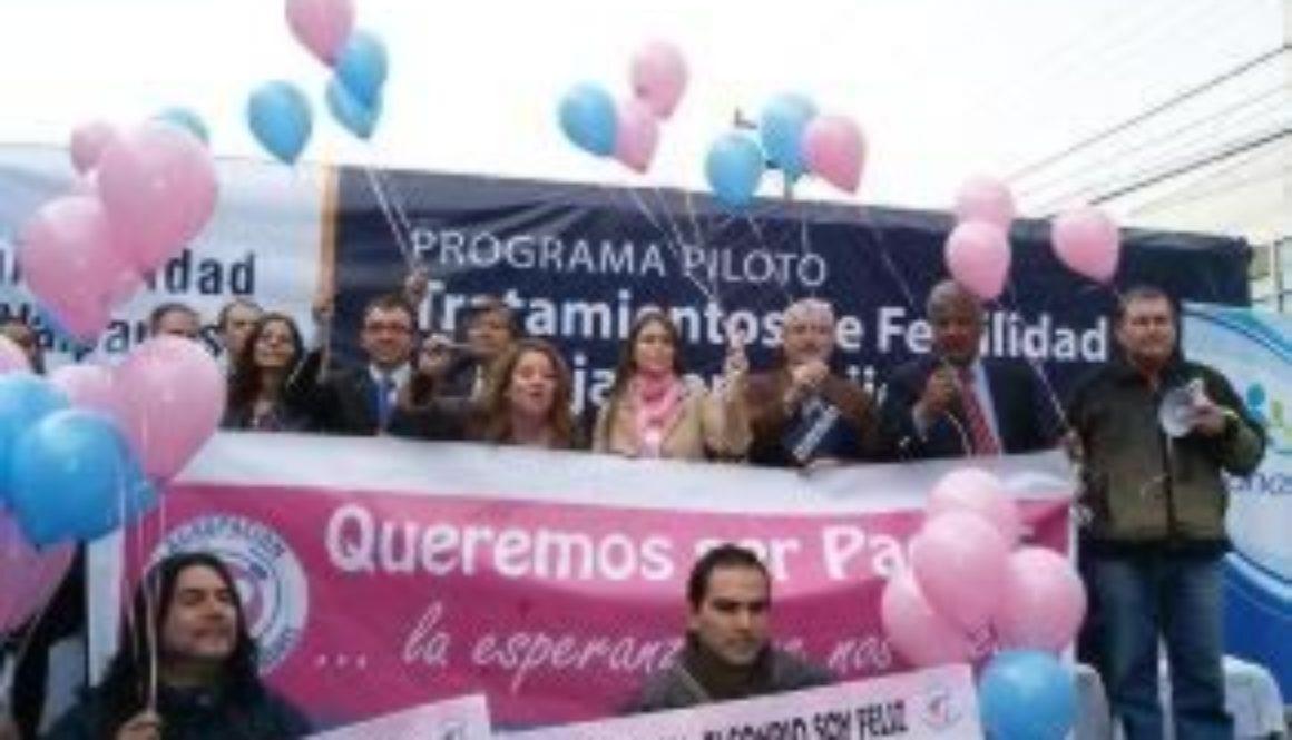 """Agrupación """"Queremos ser padres """" envía carta a piñera por falta de cobertura a tratamientos contra La infertilidad"""