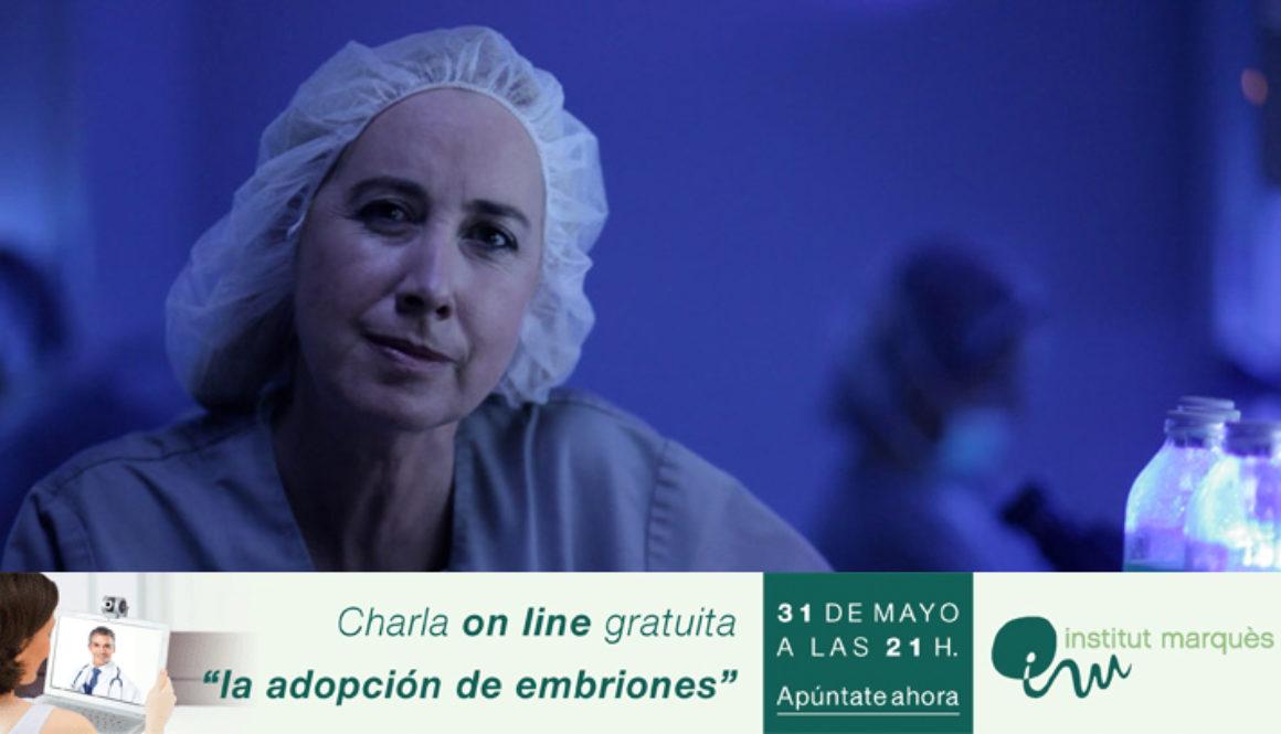 Charla on-line gratuita de Institut Marquès el jueves 31 de mayo: La adopción de embriones