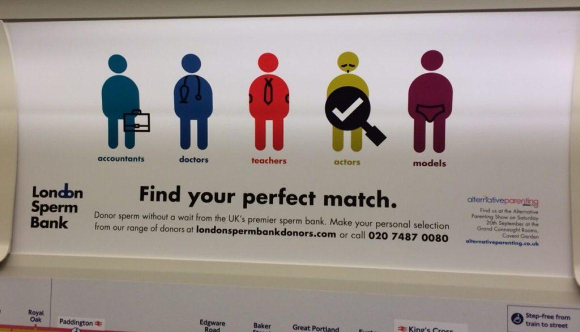 El Banco de Esperma de Londres lleva su servicio de búsquedas al móvil