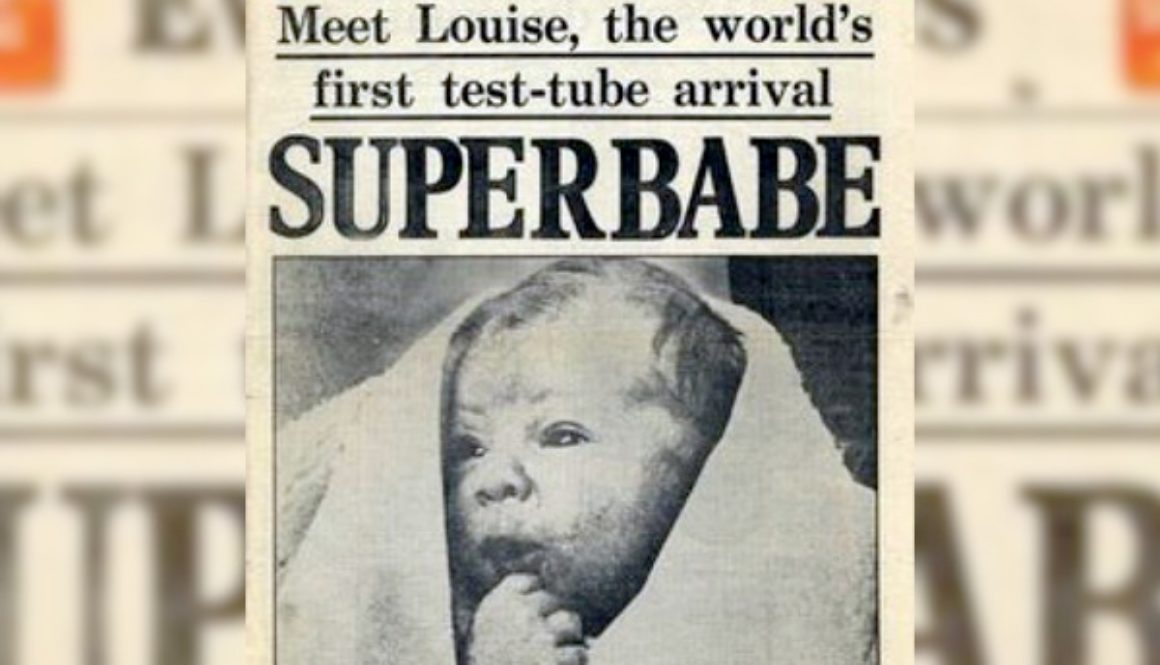 Historia de la primera 'bebé probeta'