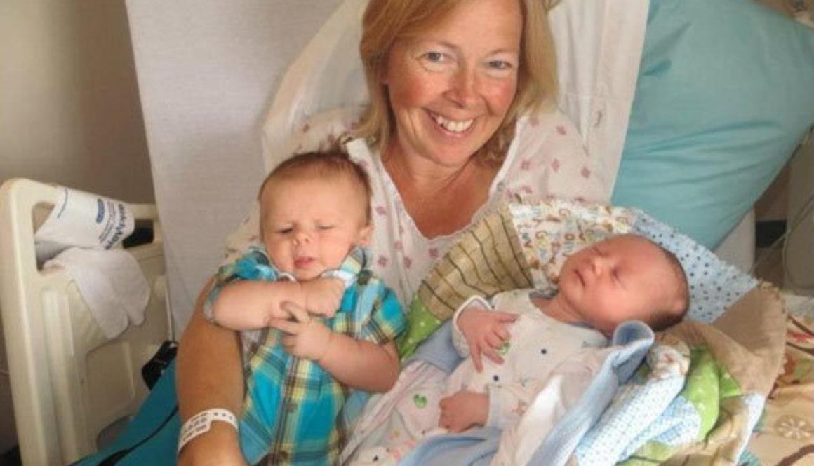 Linda Sirois de 51 años dio a luz a su propio nieto