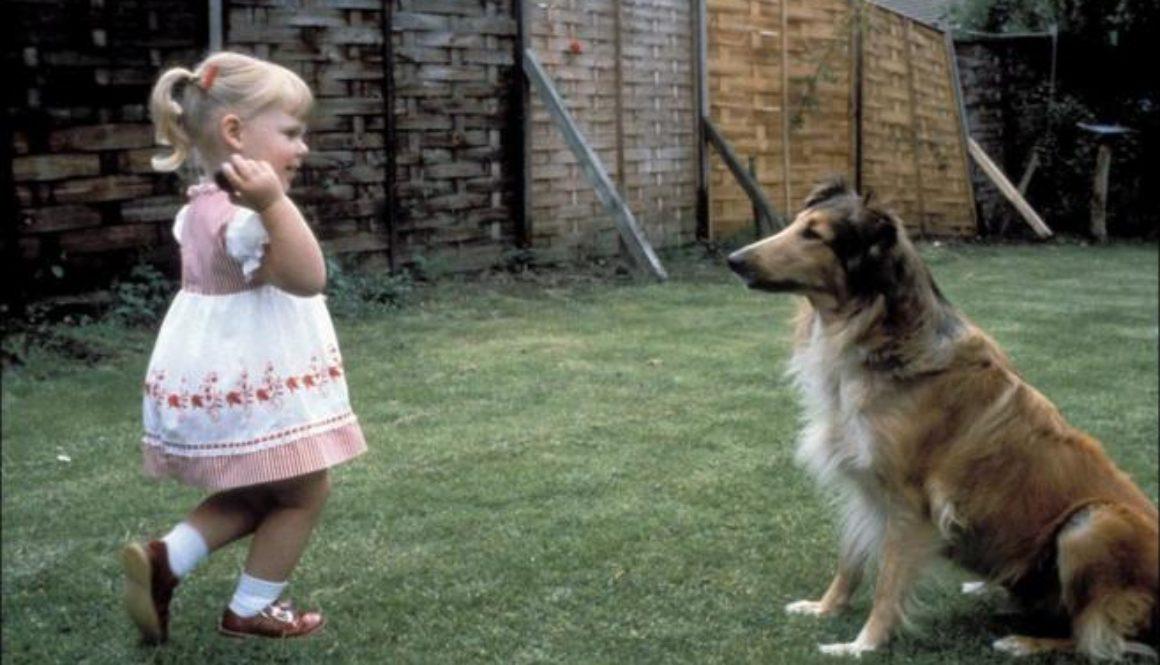 Louse Brown el primer bebé probeta cuando tenía tres años.