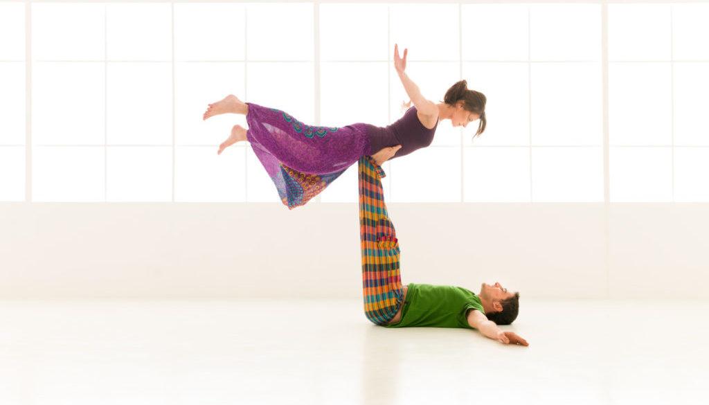 yoga partners dance