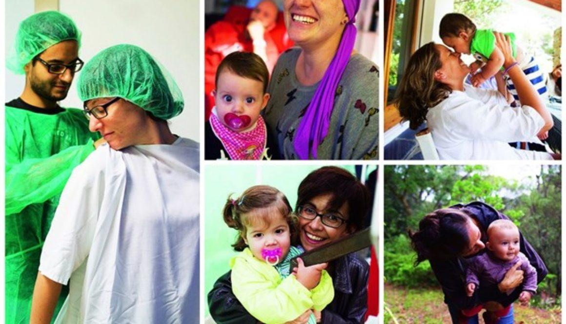 Mujeres que han sido madre después de superar un cáncer de mama