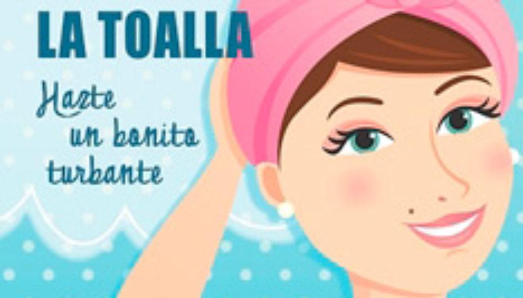 NO TIRES LA TOALLA: hazte un bonito turbante-Libro