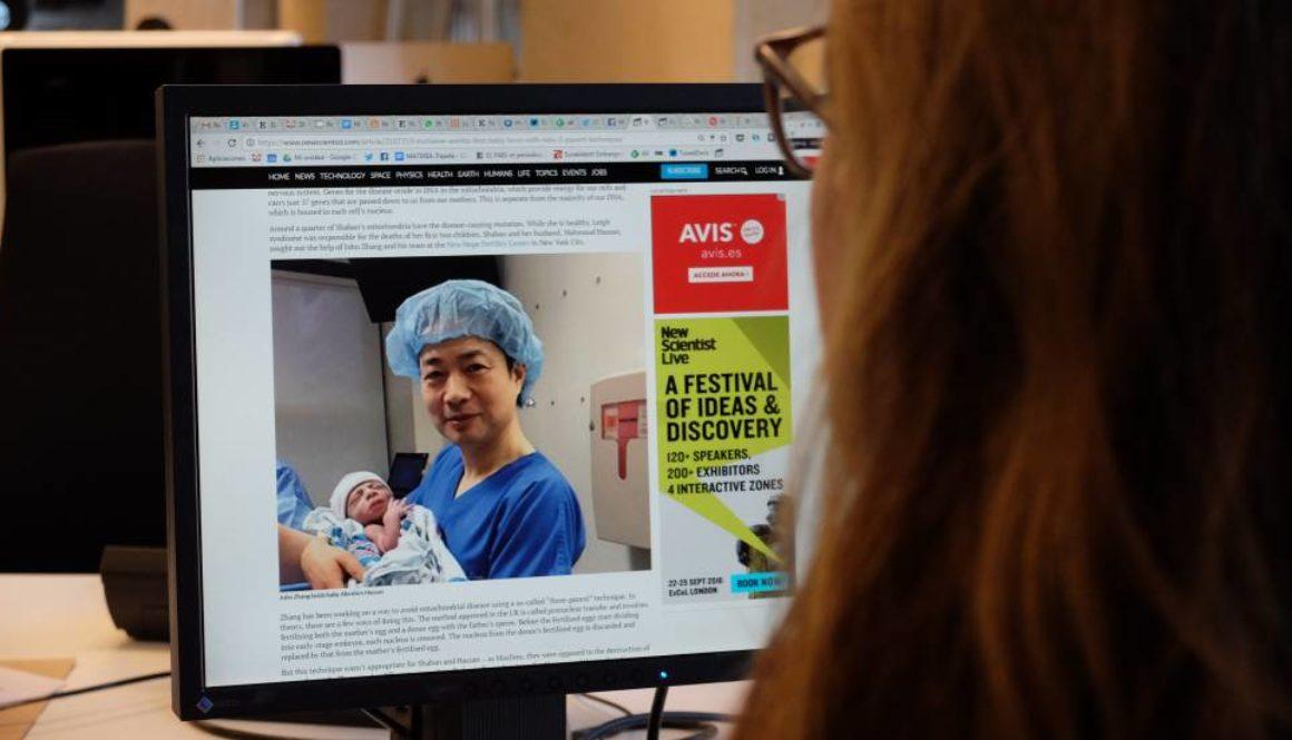 Nace un bebé con la nueva técnica de 'tres padres genéticos'