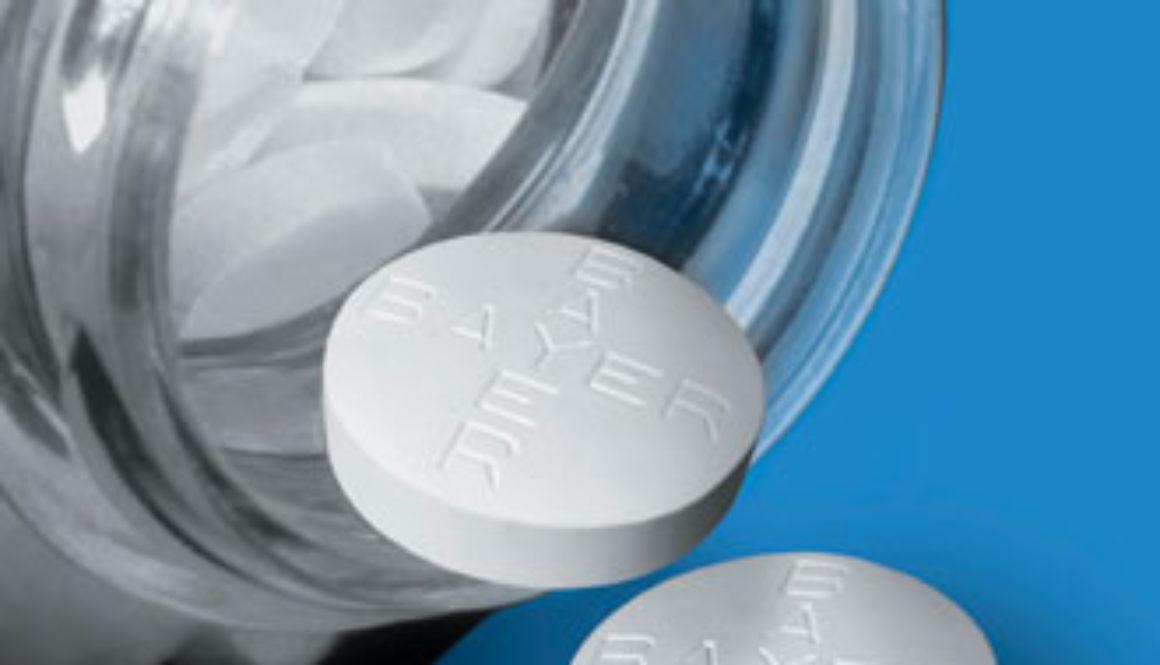 Pequeñas dosis de ácido acetilsalicílico