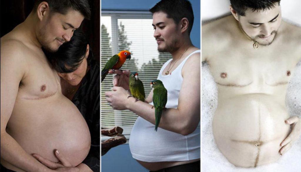 Por primera vez en Alemania un hombre transexual dio a luz a un bebé
