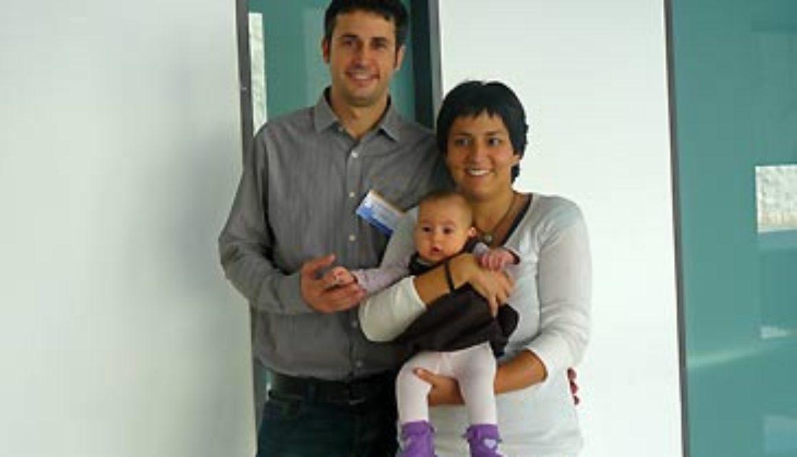 Rául Alonso ha sido padre de una niña nacida libre de la enfermedad tras hacer el DGP (diagnostico genético preimplantacional)