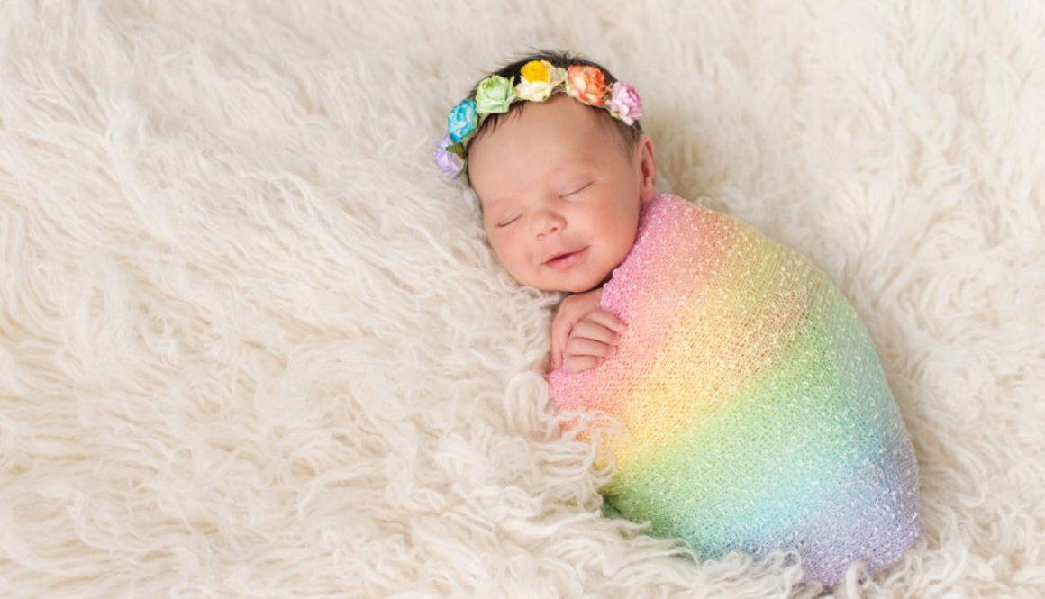 Una maternidad diferente: mi bebé estrella y mi bebé arcoíris