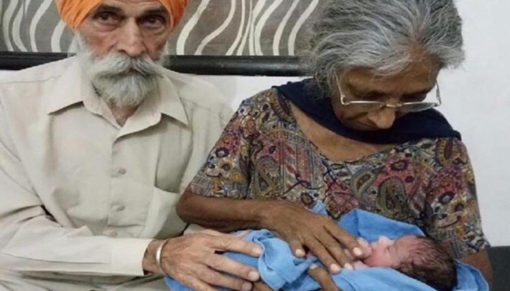 Una mujer India ha sido madre a sus 72 años gracias a la fecundación in vitro